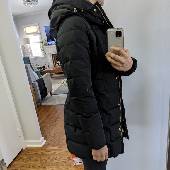 Cole Haan hooded down puffer jacket